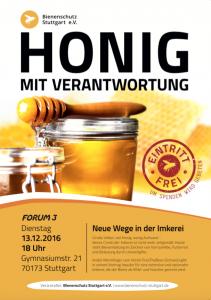 André Wermlinger von FreeTheBees ind er Schweiz kommt ins Forum3 nach Stuttgart