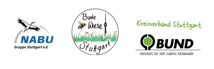 NABU Stuttgart, Bunte Wiese Stuttgart, BUND Stuttgart